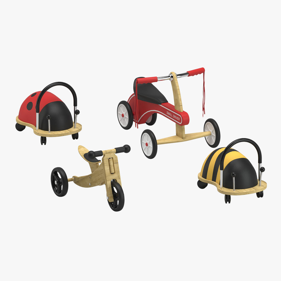 Toy Ride na zabawkach royalty-free 3d model - Preview no. 1