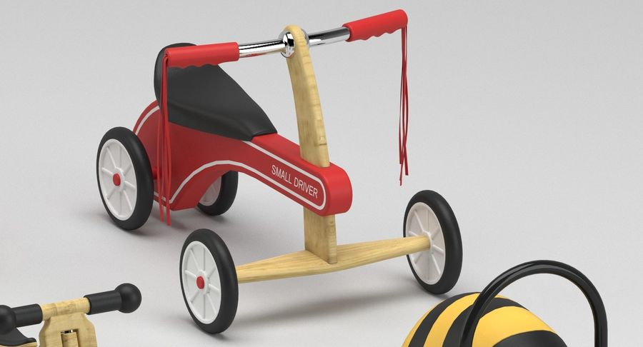 Toy Ride na zabawkach royalty-free 3d model - Preview no. 4