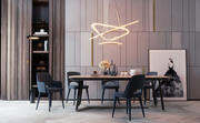 Modern Dinning Room Set 3d model