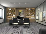 Офисный зал - Улучшенный офисный зал - Зал заседаний 3d model