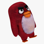 Plush Angry Bird 3d model