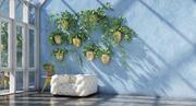 wiszące rośliny 9 3d model