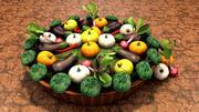 Vegetable Garden 3d model