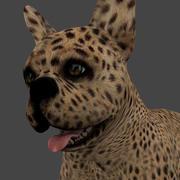 MBUL-007 Hareketli Köpek 3d model