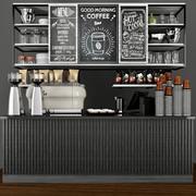 Coffee dot Modern 2 3d model