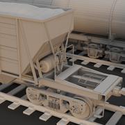 Wagons 3d model