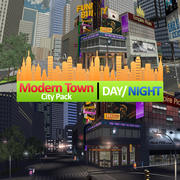 New York Modern City Pack Game Ready Included (Indoor and Outdoor) 3d model
