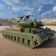 zbiornik pancerny 3d model