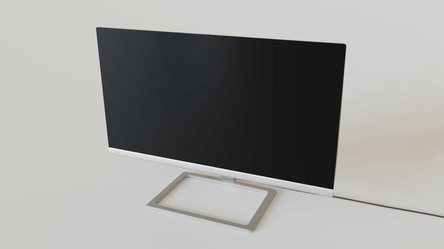 PC Monitor 01 royalty-free 3d model - Preview no. 1