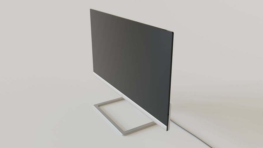 PC Monitor 01 royalty-free 3d model - Preview no. 2