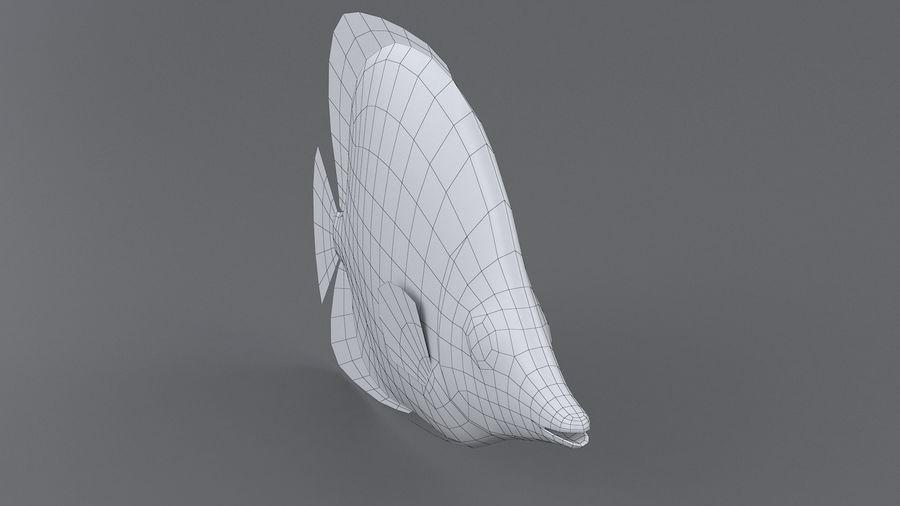 Schmetterlingskorallenrifffisch royalty-free 3d model - Preview no. 9