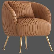 컬트 가구 마리에타 안락 의자 3d model