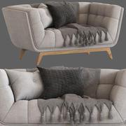 Kultmöbel Magnus 2-Sitzer-Sofa 3d model