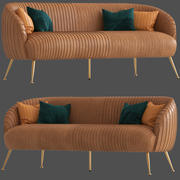 Cult Furniture Marietta Sofa 3d model