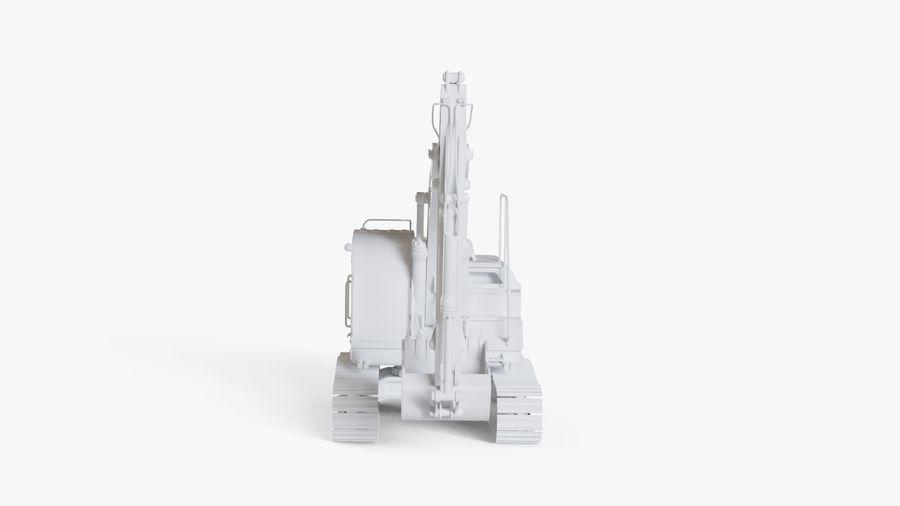 油圧ショベル royalty-free 3d model - Preview no. 14