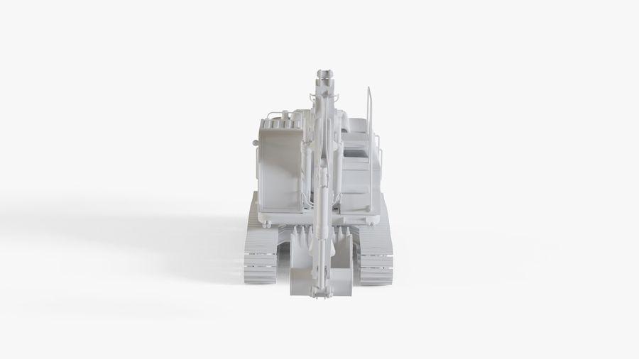 油圧ショベル royalty-free 3d model - Preview no. 9