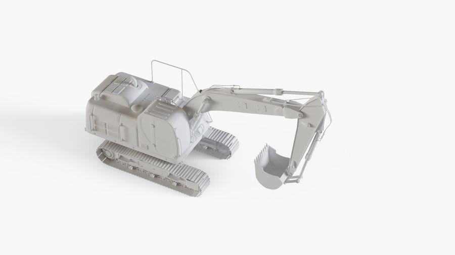 油圧ショベル royalty-free 3d model - Preview no. 15
