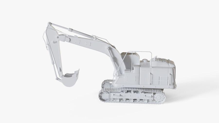 油圧ショベル royalty-free 3d model - Preview no. 13