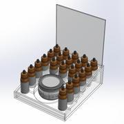 Gablota CBD z Mason Jar 3d model