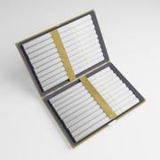 金烟盒3D 3d model