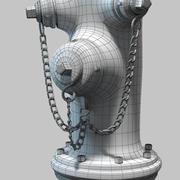 Пожарный Гидрант (1) 3d model