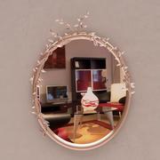 Ornate Mirror 3d model