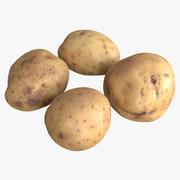 Pommes de terre 3d model