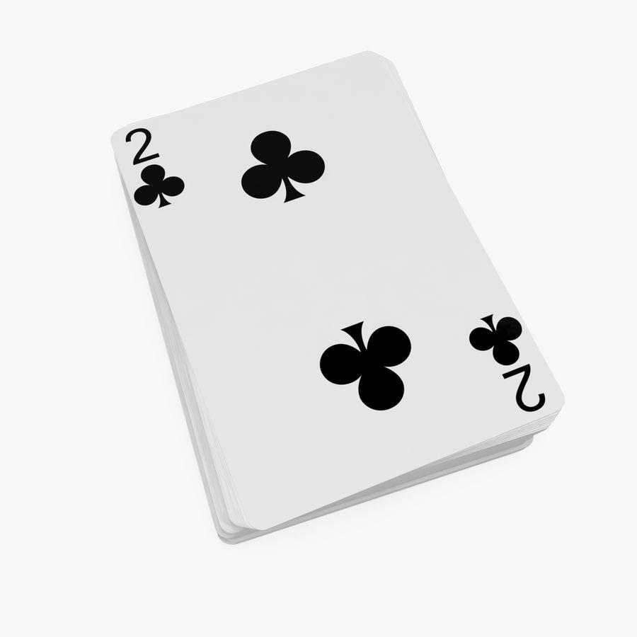 Poker Playing Cards 3d Model 29 Max Obj Ma Fbx C4d Blend 3ds Free3d