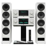 System akustyczny T + A. MP 3100 HV PA 3100 HV. 3d model