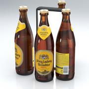 Bierflasche König Ludwig Weißbier Hölle 500ml 2019 3d model