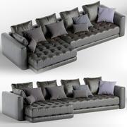 Sofá cama modelo 3d