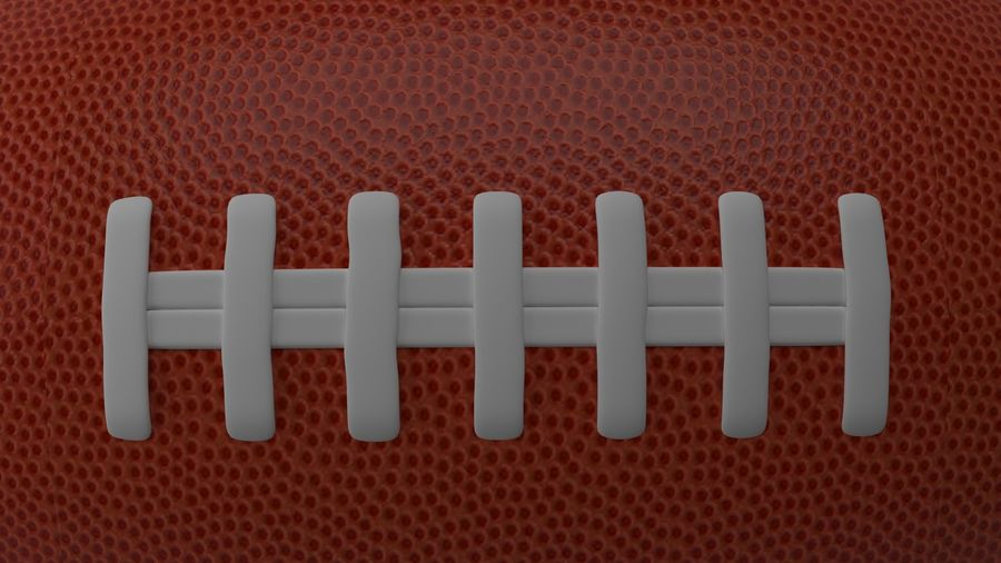 fútbol americano royalty-free modelo 3d - Preview no. 5