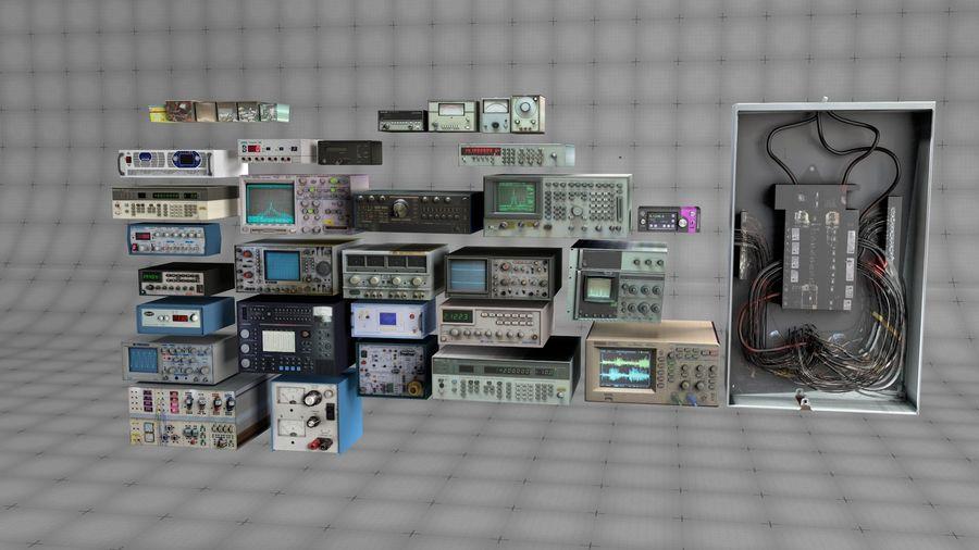 Elektronik, VIntage royalty-free 3d model - Preview no. 1