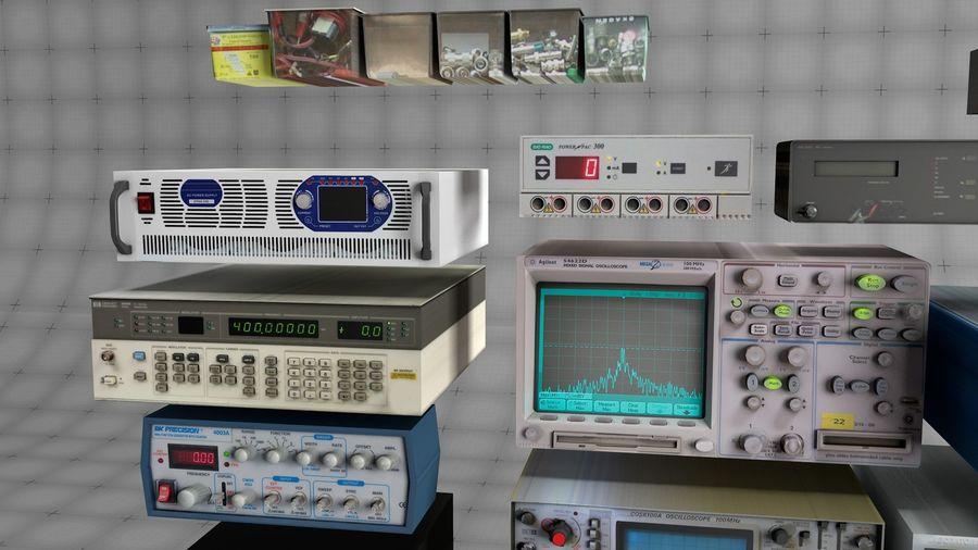 Elektronik, VIntage royalty-free 3d model - Preview no. 2
