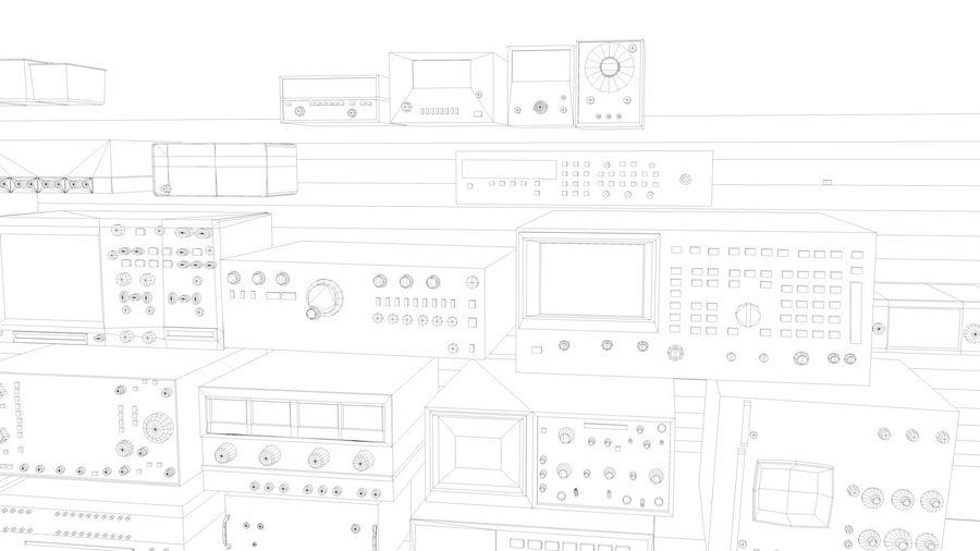 Elektronik, VIntage royalty-free 3d model - Preview no. 11