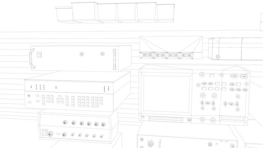 Elektronik, VIntage royalty-free 3d model - Preview no. 8