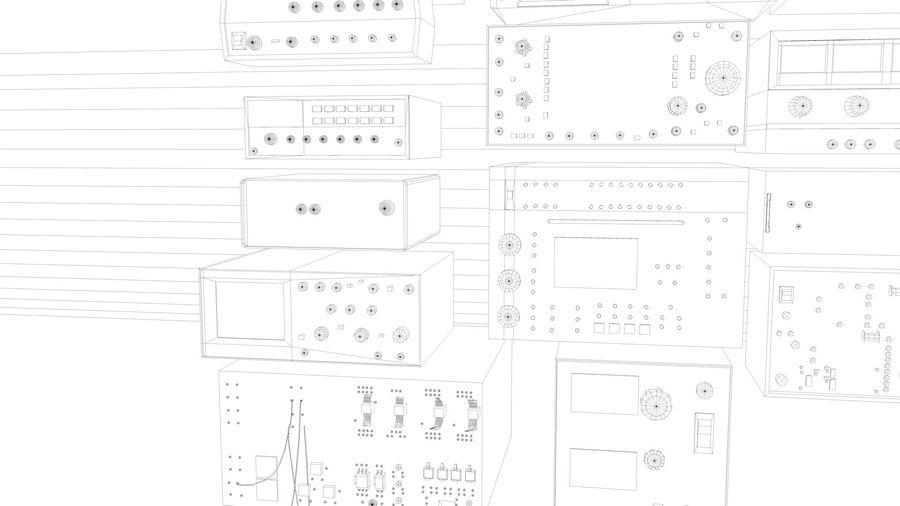 Elektronik, VIntage royalty-free 3d model - Preview no. 9