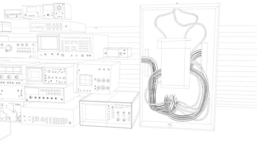 Elektronik, VIntage royalty-free 3d model - Preview no. 12