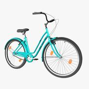 Kız Bisiklet 3d model