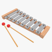 Xylophone Kids Musical Toy 3d model