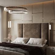 Dormitorio escena moderna y modelo Render 3D Corona modelo 3d