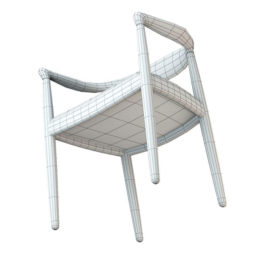 Hans Wegner Krzesło PRO royalty-free 3d model - Preview no. 18
