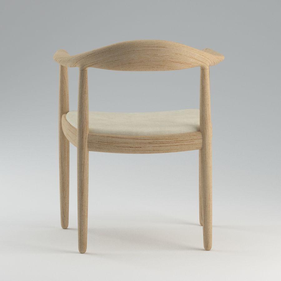 Hans Wegner Krzesło PRO royalty-free 3d model - Preview no. 7