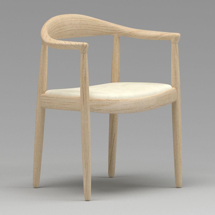 Hans Wegner Krzesło PRO royalty-free 3d model - Preview no. 11
