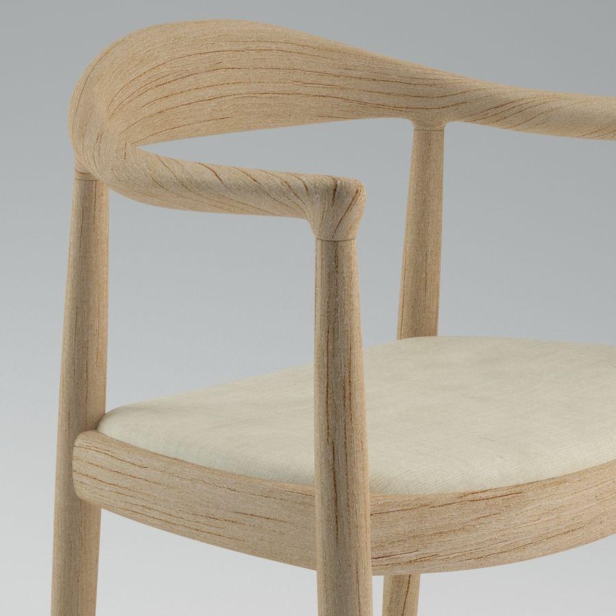 Hans Wegner Krzesło PRO royalty-free 3d model - Preview no. 10
