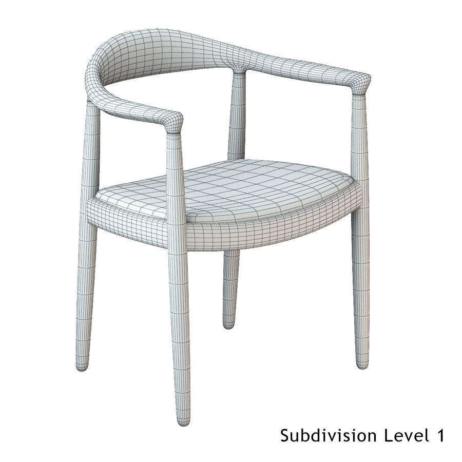 Hans Wegner Krzesło PRO royalty-free 3d model - Preview no. 15