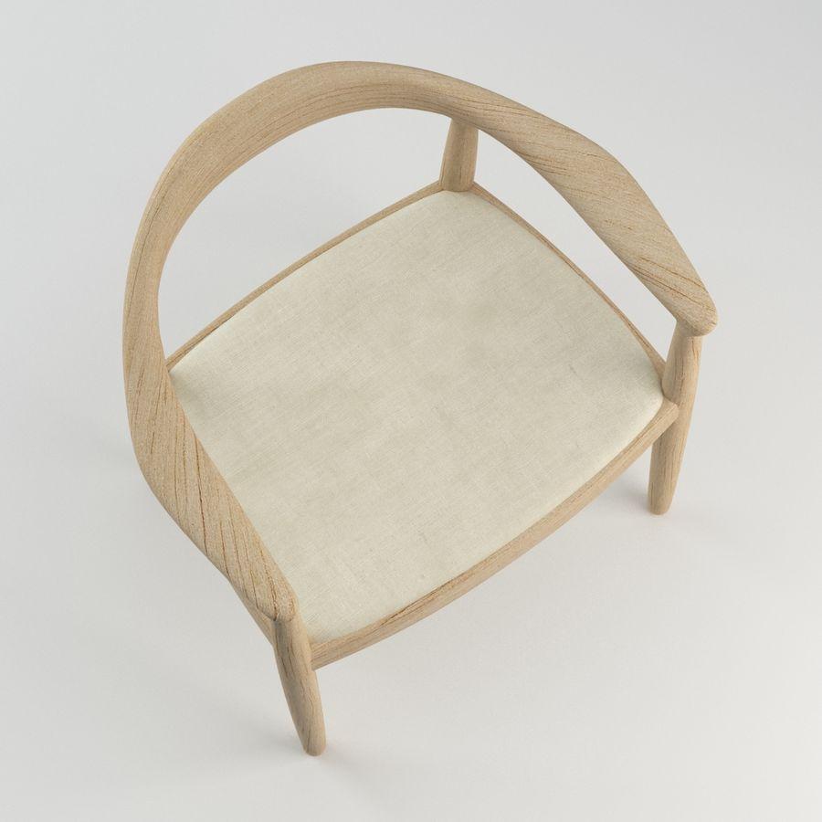 Hans Wegner Krzesło PRO royalty-free 3d model - Preview no. 9