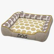 Cama para mascotas para perros modelo 3d