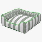 Małe ogólne łóżko dla zwierząt domowych 3d model
