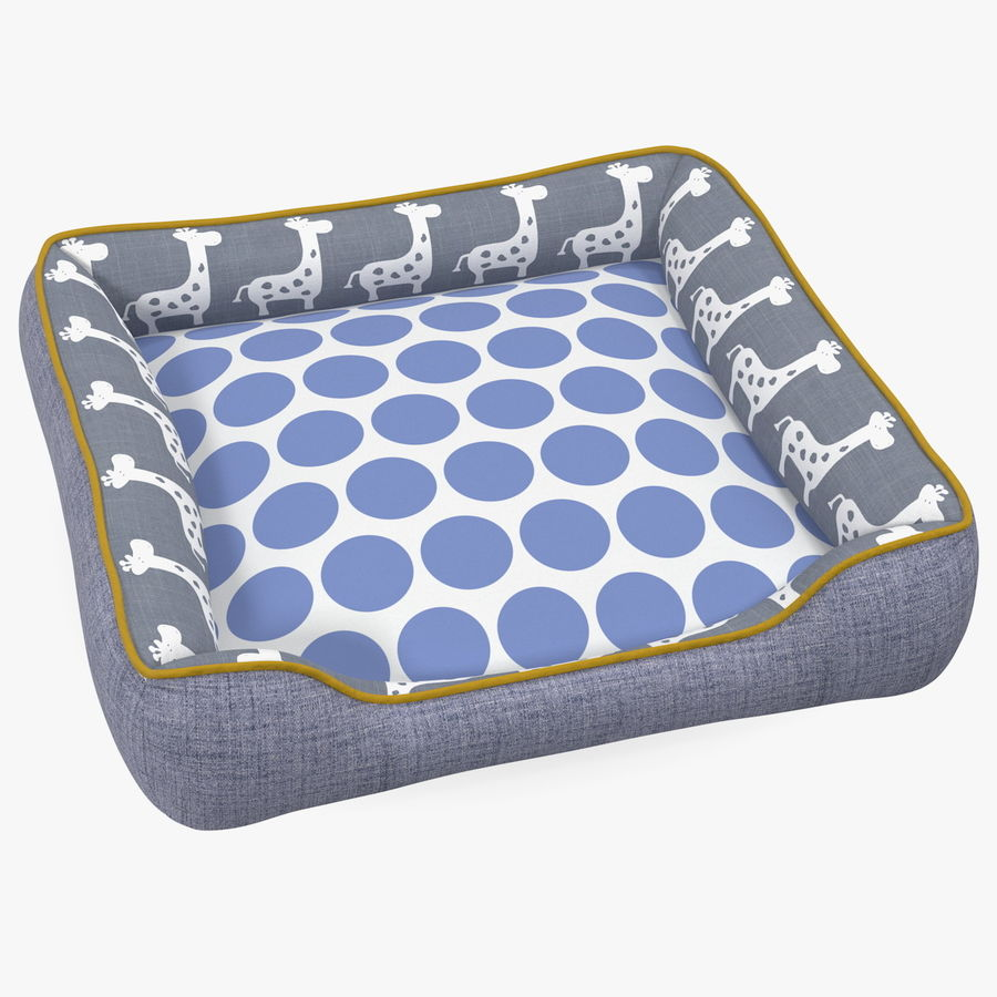 Pet Bed Generic royalty-free 3d model - Preview no. 1